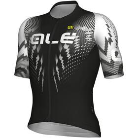 Alé Cycling R-EV1 Pro Race Koszulka kolarska, krótki rękaw Mężczyźni biały/czarny